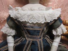 "Antique COTTON Whitework ENFANTINE FRENCH FASHION BLOUSE/18"" DOLL/POUPEE MODELE | Dolls & Bears, Dolls, Clothes & Accessories | eBay!"
