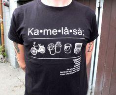 Hjem   T-SKJORTER HERRE   Kamelåså - sort   probat.no