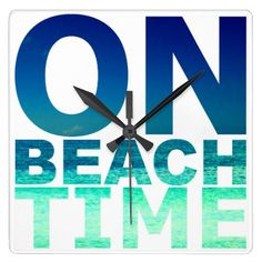 On Beach Time Wall Clock: http://www.beachblissdesigns.com/2015/08/on-beach-time-wall-clock.html