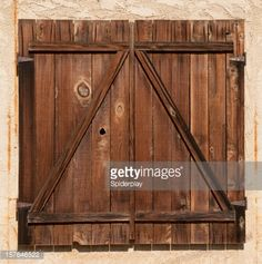 Stock Photo : Weathered Barn Door