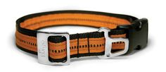 The new Kurgo Wander Collar combines stylish simplicity with strength and durability. As the one item your pup wears every day, you want it to convey a sense of style, but you also want a reliable, comfortable product as well. The Kurgo Wander Collar offers just that with its double-lined, fully adjustable collar adorned with a stamped steel dog-tag and leash ring and Kurgo stamped steel slide.