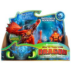Dreamworks Dragons, Hookfang and Snotlout, Dragon with Armored Viking Figure, for Kids Aged 4 and Up - Toys Dreamworks Movies, Dreamworks Dragons, Toothless Toy, Dragon Scale Armor, Chibi, Twin Comforter Sets, Fire Dragon, Lego Dragon, Dragon Jewelry
