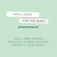Deep breathing – a perfect way to combat stress, no beach needed. #FromTheHeart #NWHW