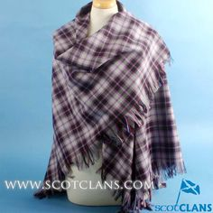 Clan McPherson Hunting Shawl