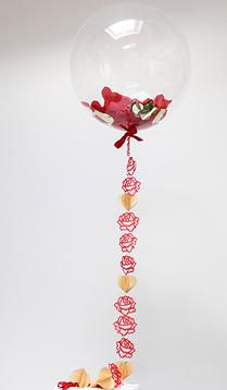12 Red Roses Valentine Balloon - Awesome Valentine Gift x
