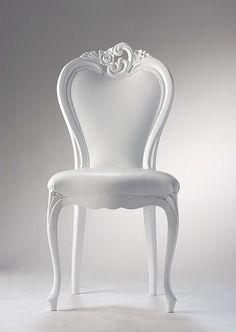 Versace White Chair