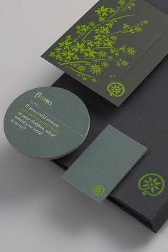 Deep grey and chartreuse. Identity Design by Studio Output http://www.arcreactions.com/services/website-design/#