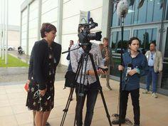 Preparazione set interviste pubblico congresso #live #backstage #unidi #eccellenzadentale #amicidibrugg #madeinitaly