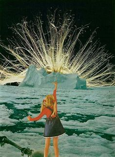 Jesse Treece is a collage artist living in Seattle whose work screams simple yet complex, with interpretations of both the mundane and whimsical facets of