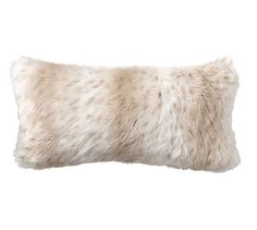 Faux Fur Pillow Cover - Light Fox | Pottery Barn