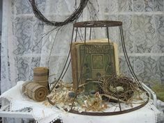 Treasures from the Heart: Lamp Shade Cloche