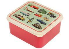 Vintage Brotdose 'Transport' Toys | Kindershop Das Kleine Zebra