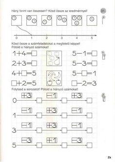 Math School, First Grade, Worksheets, Teacher, Printables, Album, Activities, Education, Learning