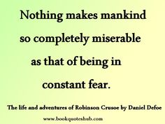 Daniel Defoe | Book Quotes Hub