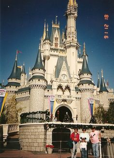 Visiting Cinderella Castle at Walt Disney World! Every child's dream is to visit Walt Disney World or Disneyland!  It is a magical place of princesses, fairytales and the place where dreams do come…