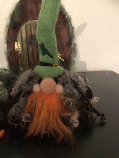 Cute needle felted Gnomes, Tomtes and Leprechaun gifts. by TheFeltedGnomeHouse New Baby Crafts, Easter Crafts, Irish Leprechaun, Felt Gifts, Quirky Gifts, Soft Sculpture, Sculptures, Party Gifts, Gnomes