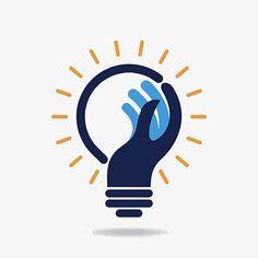 Creative Bulb Logo, Logo Clipart, Corporate Logo, Company Logo PNG Transparent I. Logo Inspiration, Design Graphique, Art Graphique, Logo Maker, Logo Branding, Branding Design, 3 Logo, Graphic Pattern, Education Logo Design