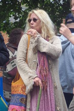 old hippie woman - Google Search