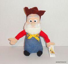 "Disney Store 9"" Prospector Pete Plush Doll from Toy Story 2 #Disneyania #toys"
