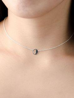 Ribbon Choker Flower Jewelry Chokers Collar Olive Eye Choker Necklace White Flowers Layering Necklace