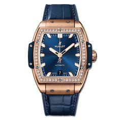 Spirit Of Big Bang Yellow Sapphire - Hublot Stylish Watches, Luxury Watches, Hublot Classic Fusion, Swiss Watch Brands, Diamond Watches For Men, Hublot Watches, Popular Watches, Diy Fashion, First Ladies