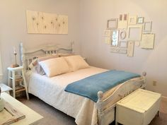 Guest bedroom, neutral bedroom, neutral decor