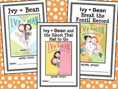 Ivy and Bean BUNDLE (Annie Barrows) 3 Novel Studies : Books #1-3 (80 pages) * Follows the Common Core Standards *  This Ivy + Bean BUNDLE contains 3 Novel Studies from The Ivy + Bean book series by Annie Barrows. In total, there are 80 pages. Each Novel Study is in booklet-style format.