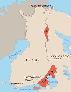 Luovutetut alueet – Wikipedia