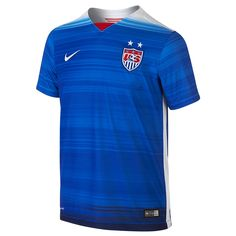 5d9b7bf3f53  74.99 Add to Cart for Price - Nike Youth USA 2015 Away Replica Soccer  Jersey (Game Royal Loyal Blue White)