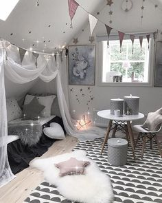 New Room Decor Ideas Bedroom Girls Bedding Ideas Baby Bedroom, Baby Room Decor, Girls Bedroom, Bedroom Decor, Childs Bedroom, Attic Bedroom Kids, Wood Bedroom, Bedroom Furniture, Wall Decor