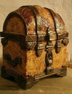 Ceramic Treasure Chest