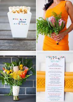 Eine bunte Hochzeitsdeko für den Sommer | Friedatheres