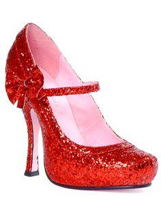 Mary Jane Glitter Shoe