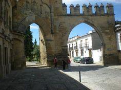 Jaén Baeza puerta de Jaen