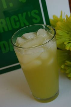 Green St. Patty's Day punch