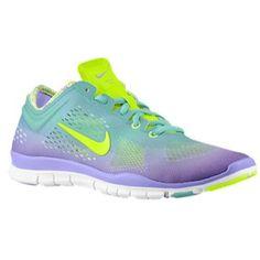 Nike Free 5.0 TR Fit 4 - Women\u0026#39;s - Diffused Jade/Atomic Violet/White