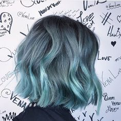 35 Light Blue Hair Color Ideas Looking for a surprising new hair color that's fit for any season? From blue pastel hair to cool shades of aqua, you'll love these light blue hair color ideas. Light Blue Hair, Hair Color Blue, Hair Colors, Color Red, Blue Green Hair, Bright Hair, Aqua Hair, Colorful Hair, Short Hair Colour