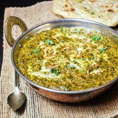 Saag – Mixed Greens Simmered in Indian Spices