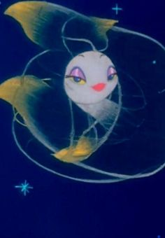 fantasia fish - see through shimmery tail