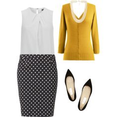 """""""Ms. Professional"""" by backstitchretro on Polyvore"""