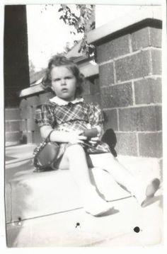 Girl in Dress w Purse