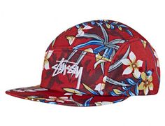 Paradise 5 Panel Hat by STUSSY