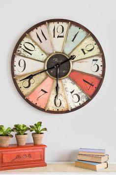 "29"" Colorful Wall Clock $68.00"