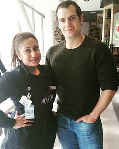 Henry Cavill News: Flashback: Sanah's February Pic With Henry In Toronto