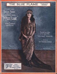 Theda Bara was an American silent film and stage actress. Description from pinterest.com. I searched for this on bing.com/images