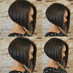 """Want to switch to a more stylized version of the cut squared? The """"bob"""" is all right. Focus on this trendy haircut already adopted by celebrities. The """"bob"""" is a variant of the square stricto sensu since it is more… Continue Reading → Short Hair Cuts For Women, Medium Hair Cuts, Medium Hair Styles, Short Hair Styles, Bob Hairstyles For Fine Hair, Medium Bob Hairstyles, Styles Bob, Beckham Hair, Corte Bob"""