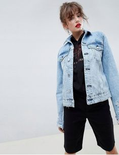 Order Cheap Monday Legit Denim Jacket online today at ASOS for fast delivery, multiple payment options and hassle-free returns (Ts&Cs apply). Get the latest trends with ASOS. Asos, Cheap Monday, Denim, Jackets, Stuff To Buy, Shopping, Style, Fashion, Jean Jacket Vest