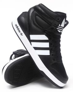 new concept d017a ea530 Adidas High Tops, Addidas Shoes High Tops, Black Adidas, Adidas Fashion