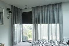 bedroom roller blinds in dark gray                                                                                                                                                     More