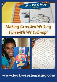 Making Creative Writing Fun for Kids with WriteShop